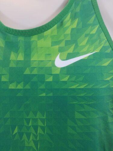 Race color mediano para Fitness mujer en Camiseta Day de verde Singlet Nike Running tirantes tfwTqP