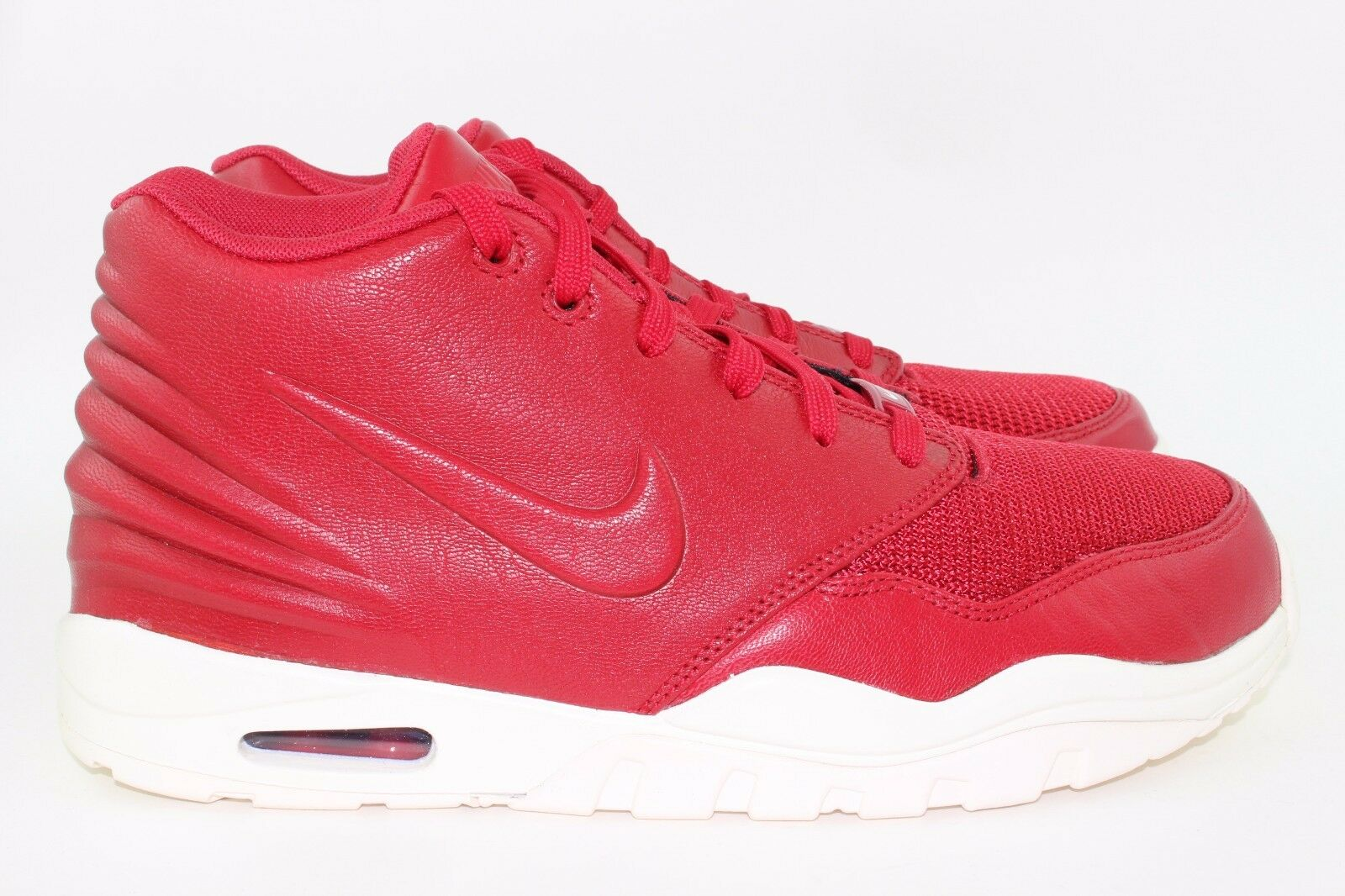 Nike Air Entertrainer Size 9.5 Men Varsity Red Comfort New Rare Legit Brilliant Comfort Red d9ca8a
