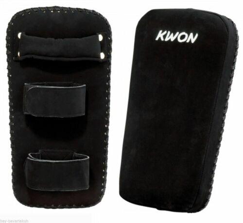 Kwon® Darkline Thaipad Muay Thai Thaiboxen MMA Armschlagpolster Pratze Armpratze