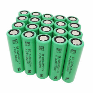 20X-Battery-18650-3000mAh-VTC6-High-Drain-3-7V-Rechargeable-Li-ion