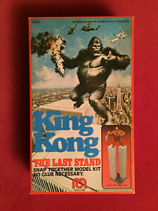 1976 King Kong Mego Model Kit - Maquette Boîte/box Exc. Condition