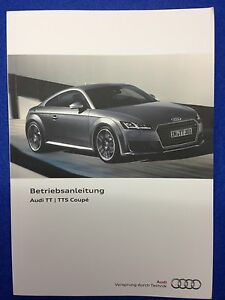 Audi-TT-TTS-8S-Coupe-2014-2015-Betriebsanleitung-Bedienungsanleitung-CD