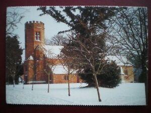 POSTCARD RELIGIOUS CHURCH IN WINTER - Tadley, United Kingdom - POSTCARD RELIGIOUS CHURCH IN WINTER - Tadley, United Kingdom