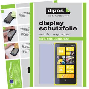 1x Nokia Lumia 920 Film Protecteur Mat Protection D'écran Antiréflectives Film D'écran-olie Antireflex Displayfolieafficher Le Titre D'origine