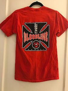 RED-ISLAND-HAWAII-CHOPPERS-LOCAL-BLOODLINE-LOGO-TEE-T-SHIRT-ADULT-SMALL