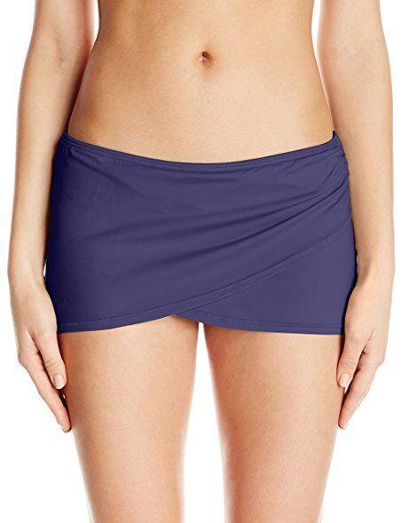 f6385e7def Anne Cole Navy Sarong Swim Skirt L - Returns for sale online | eBay