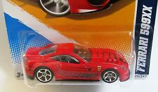 RED Hot Wheels Ferrari 599XX 1:64 Scale Italian Sports Car MOC HW All Stars 2012