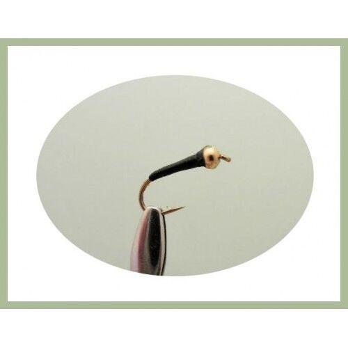 Goldhead Buzzers 12 Pack Gold Head Black /& Olive Sight Bob Killers 10//12//14