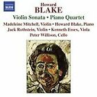 Howard Blake - : Violin Sonata; Piano Quartet (2008)