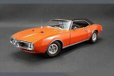 1968 PONTIAC FIREBIRD CARNIVAL RED BLACK VINYL TOP ACME CAR GMP 1:18 DIECAST GM
