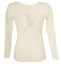 Women-039-s-T-Shirt-Intimate-A-Long-Sleeve-Wool-Blend-and-Cotton-075459-ragno thumbnail 4