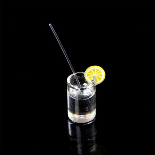 1:12 Dollhouse Mini Lemon Water Cup Dollhouse Accessories Toy Mini Decor Gifts