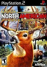 ***CABELA'S NORTH AMERICAN ADVENTURES 2011 PS2 PLAYSTATION 2 DISC ONLY~~~