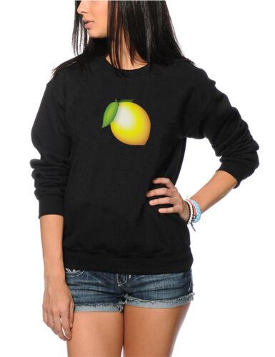 Various Sizes Emoji Album Fashion Jumper Lemon Lemonade Sweatshirt