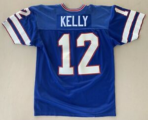 Details about Authentic 1988 Jim Kelly Buffalo Bills Game Jersey Sz 46 XL Vintage #12 Champion