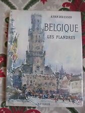 1958 Belgique Les Flandres Van Der essen Arthaud Voyage illustré