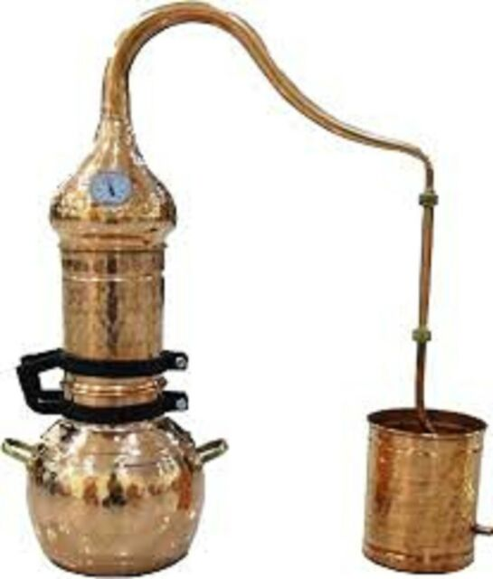 Column Distillery 5 liters with thermometer *Alambicco* Alembic *Still*Moonshine