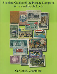 Standard-Catalog-of-Postage-Stamps-of-Yemen-amp-South-Arabia-by-Carlson-Chambliss