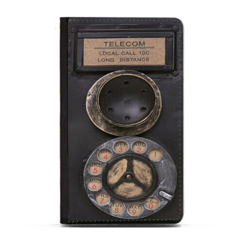 Guitar Motherboard Watercolor Typewriter Funny Leather Passport Holder Case