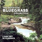 The Definitive Bluegrass Collection by Various Artists (CD, Nov-2001, 2 Discs, CMH Records)