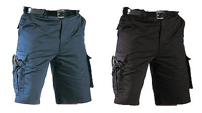EMT Shorts Navy Blue & Black Emergency Medical Technician Medic Shorts XS-2XL