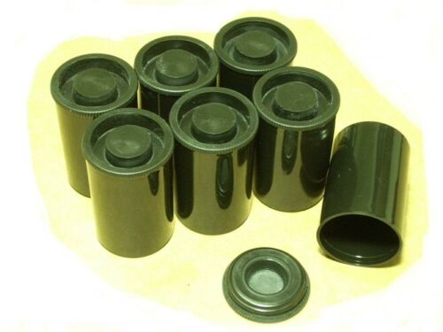 FREE SHIPPING. 1,000 Black Fuji Film Canisters Cannisters Containers BRAND NEW