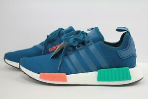 competitive price e558e 6c63f Details about ADIDAS NMD_R1 BLUE NIGHT/ENERGY ORANG G26510