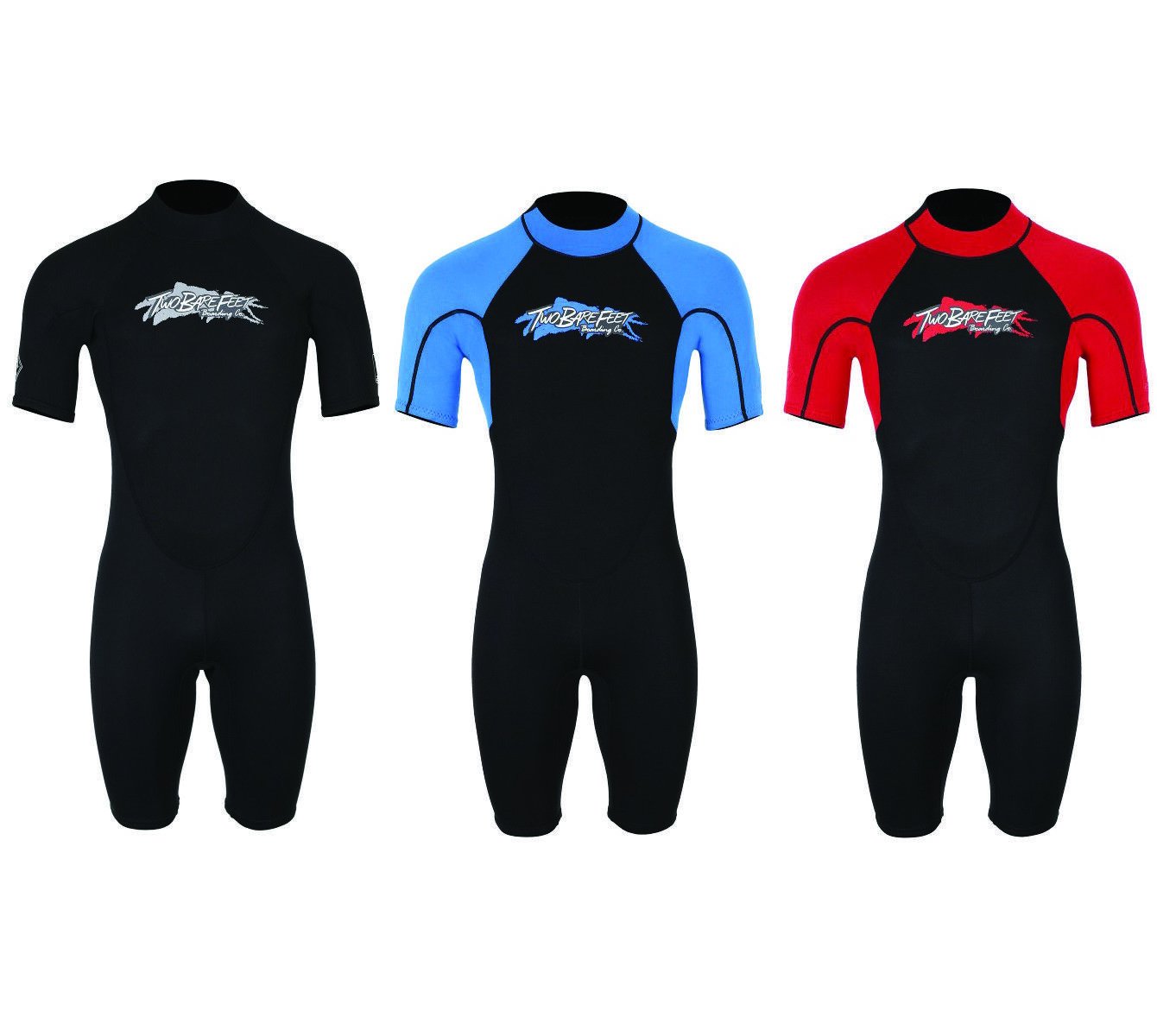 Two Bare Feet Unisex VICTORY Adults Shorty Short Wetsuit 3mm