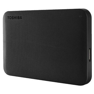 NEW Toshiba Hard Drive 2TB Canvio Basics 3 External Hard Drive Portable HDD