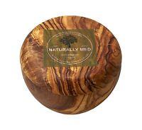 Naturally Med Olive Wood Sugar Pot/salt Keeper Free Shipping