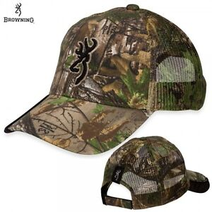 Image is loading Browning-Realtree-Xtra -Green-Camo-Buckmark-Strutter-Hunting- eaa9705f6837
