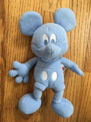 Disney Mickey Mouse Fleece Baby Blue Uniqlo Plush Toy [SW]