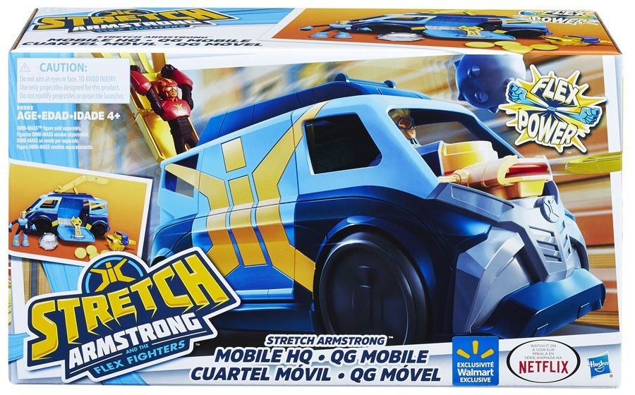 Flex Power Stretch Armstrong Mobile HQ Vehicle
