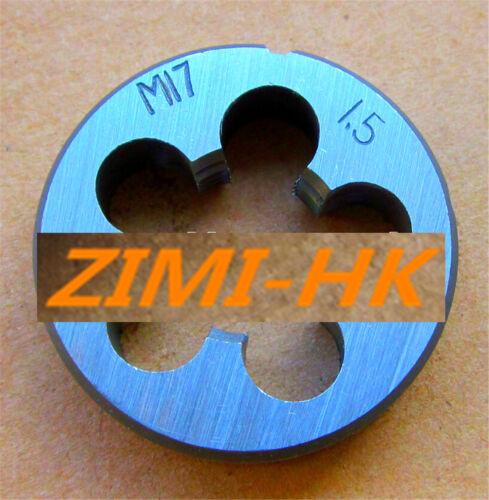 The high quality 1pcs 17mm x 1.5 Metric Right hand Die M17 x 1.5mm Pitch