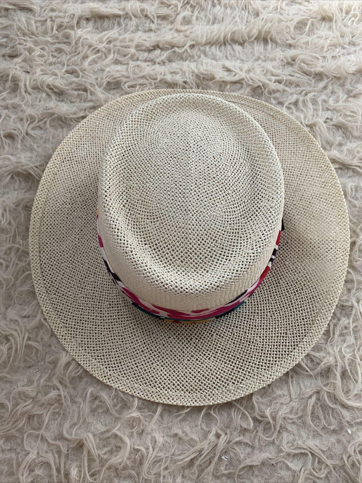 Kangol Straw Hat Golf Vacation Summer O/S Sun Hat - image 1