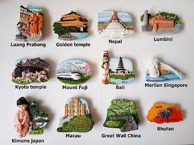Luang Prabang LAOS 3D Fridge Magnet Resin Collectible Tourist Travel Gift Craft