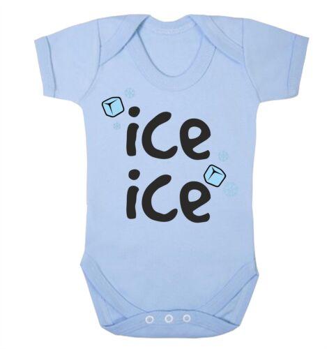 Ice Ice Baby Babygrow Vanilla Rap Lyrics Funny Clothing Gift New Born
