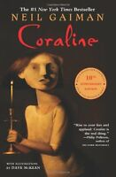 Coraline By Neil Gaiman, (paperback), Harpercollins , New, Free Shipping on Sale