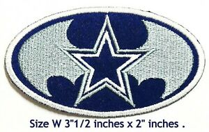 Dallas-Cowboys-Football-NFL-Sport-Logo-Embroidery-Patch-iron-sewing-on-Cloth
