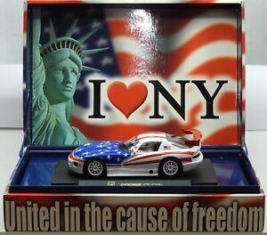 911-Conmemorativa-Dodge-Viper-Unidos-en-la-causa-de-la-libertad-Fly-1-32-Slot-Car