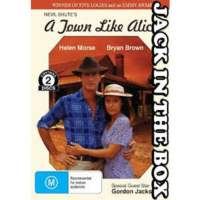 A Town Like Alice DVD NEW, FREE POSTAGE WITHIN AUSTRALIA REGION ALL