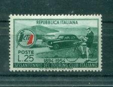 AUTO - CARS Italia Repubblica 1954 - B.839 - Touring Club Italiano