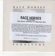 (DN373) Race Horses, Furniture - 2012 DJ CD