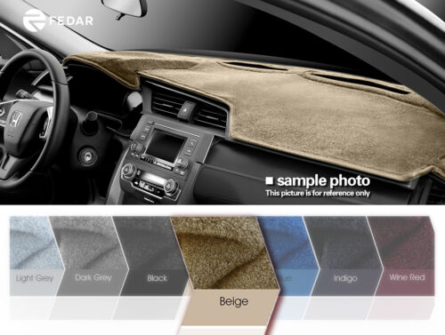 Beige Dashboard Pad Dash Cover Mat For 1982-1985 Chevy S10 Pickup S10 Blazer
