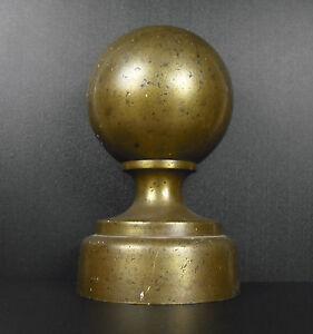 Stabile-Ball-Sferico-di-Stallo-Camminare-in-Bronzo-H-23-cm-Cavallo-2-KG