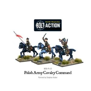 Polish-Army-Cavalry-Command-Miniatures-Warlord-Games-Bolt-Action-World-War-2