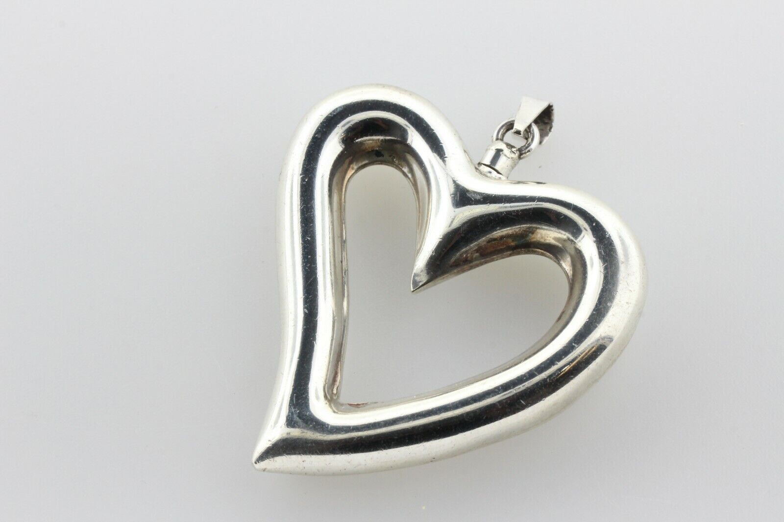 Vintage Sterling Silver Heart Screw Top Poison Pe… - image 3