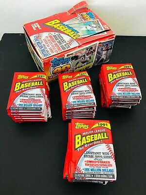 1991 TOPPS UNOPENED WAXPACK