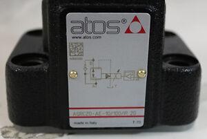 NEW ATOS VALVE AGRCZO-AE-10/1