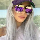 Fashion Retro Mirrored Lens Sunglasses Glasses Eyewear UV400 Women Eyewear